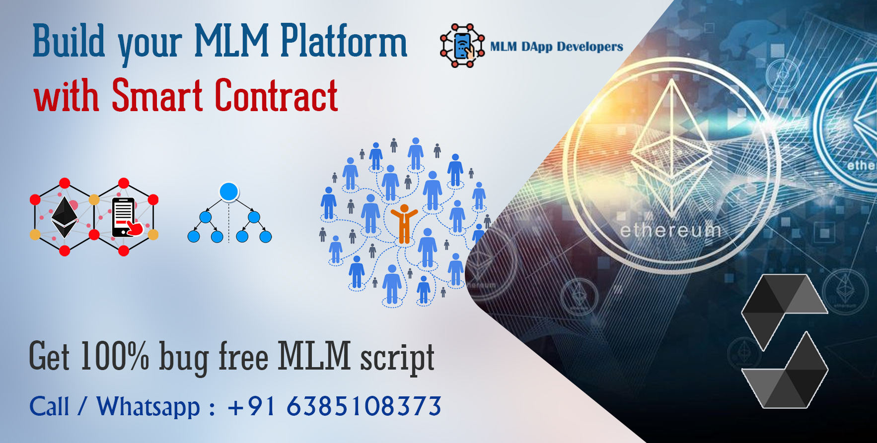 Decentralized MLM Software with Smart contracts