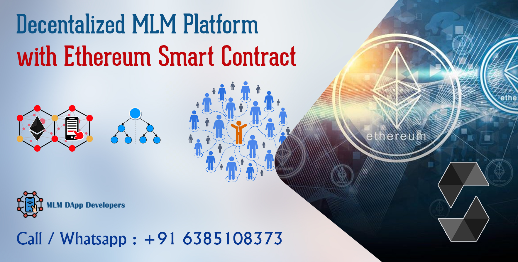 Decentralized Unilevel MLM Plan Software Smart contract - DApp